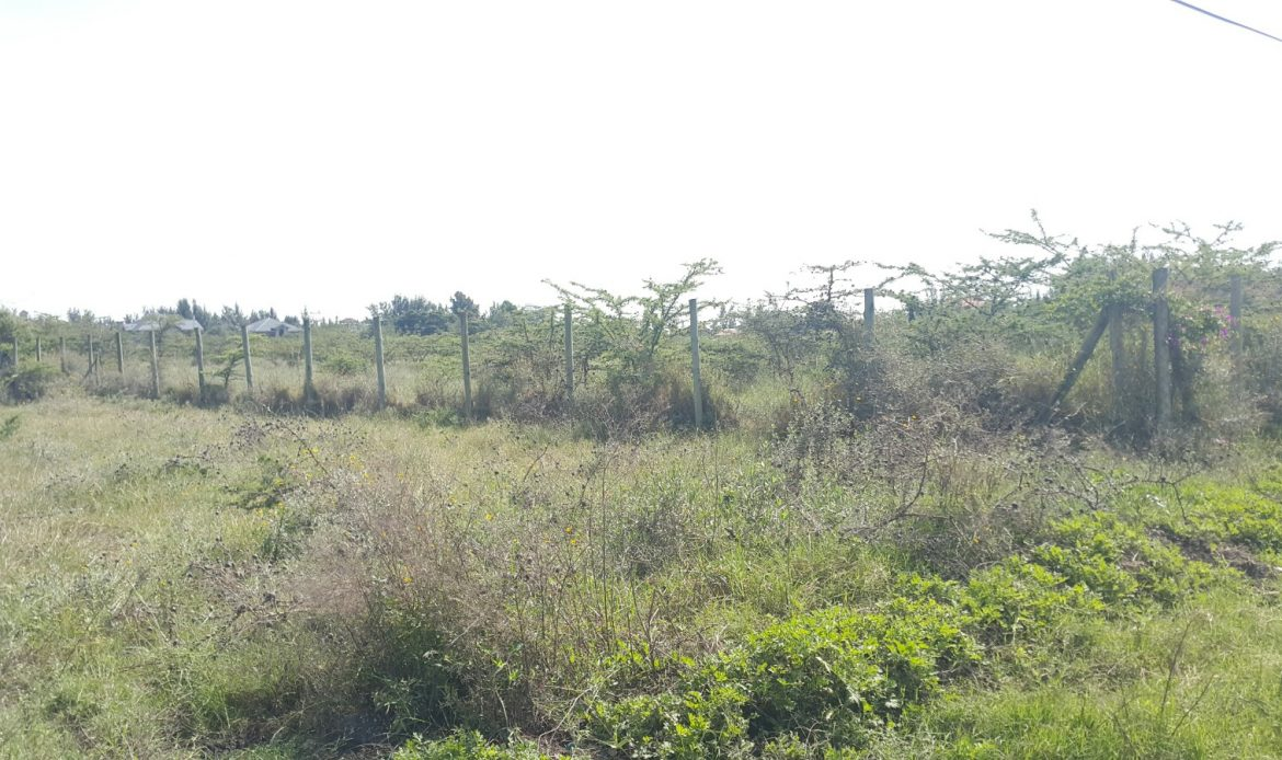 2 Acres for sale First row – Kiungani Road – Syokimau